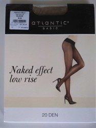 BLT-001 Rajstopy Naked Effect Low Rise  (20 DEN) Glace